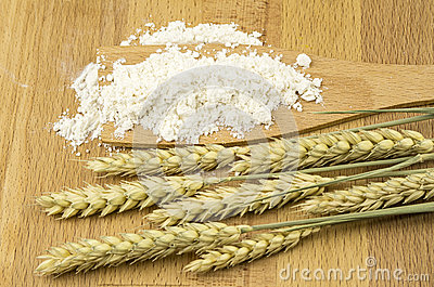 Flour and grain