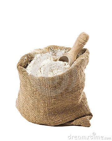 Free Flour Sack Royalty Free Stock Photography - 13567237