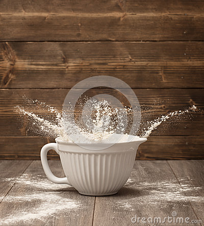Flour Splash