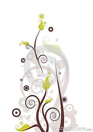 Free Flourish Vector Royalty Free Stock Image - 2442946