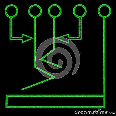 Flow chart symbol 1