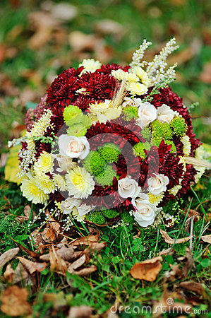 Flower Arrangement of autumn