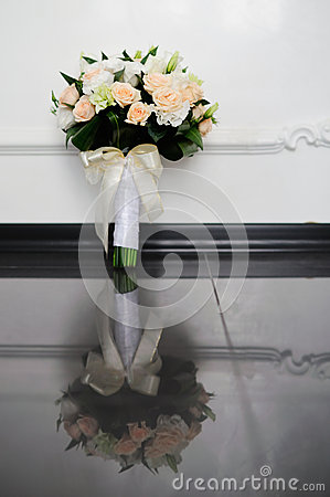 Flower Arrangement and reflection