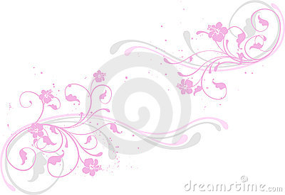 Flower background, pink