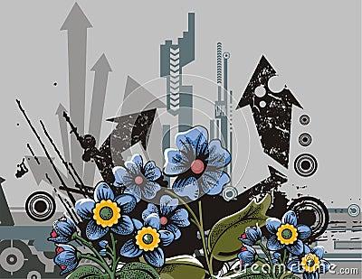 Flower background series