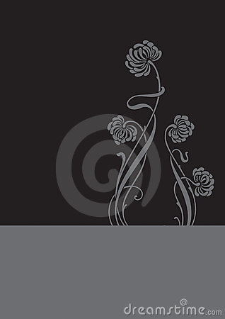 Flower background (vector)