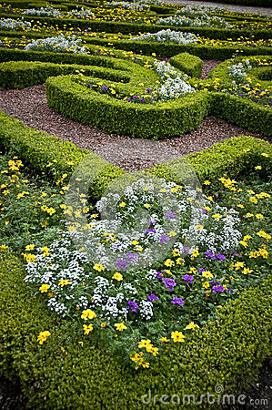 Flower Beds - landscaped garden