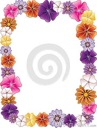 Free Flower Border Stock Image - 13980151