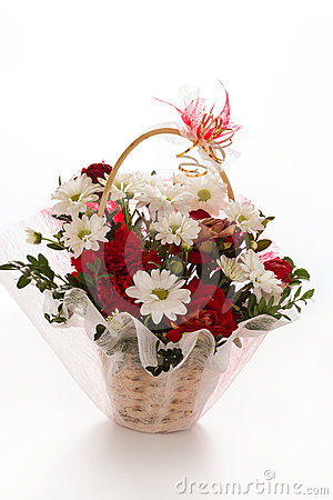 Flower bouquet arrangement
