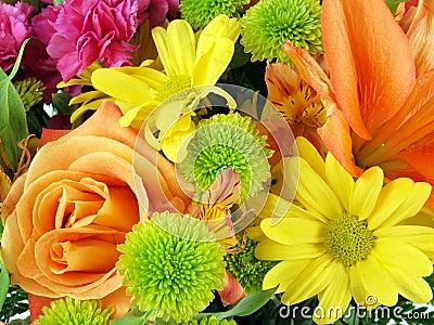 Flower bouquet background 11