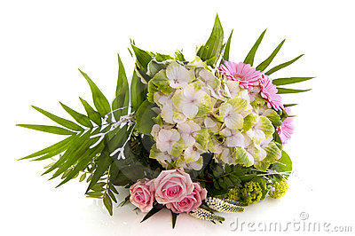 Flower bouquet with Hydrangea
