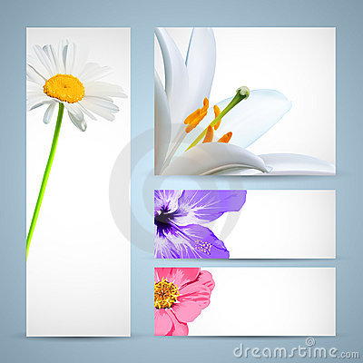 Flower Brochure Template
