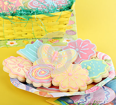 Flower and Butterfly Sugar Cookies