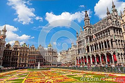 Flower Carpet 2010, Brussels. Editorial Photo