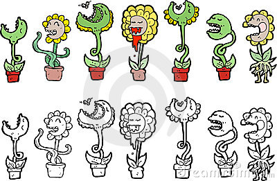 Flower characters