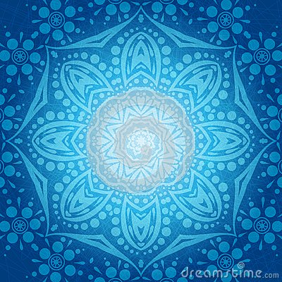 Free Flower Circular Background. A Stylized Drawing. Mandala. Stylized Lace Ornament. Indian Floral Ornament. Stock Images - 80000714