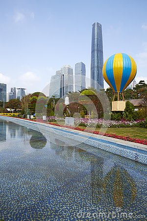 Free Flower City, Guangzhou, China Royalty Free Stock Image - 161233926