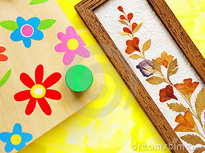 Flower crafts hobby