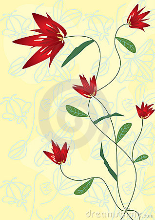 Flower Crossover Drawing_eps