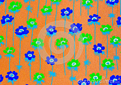 Flower decorative paper