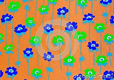 Flower decorative paper