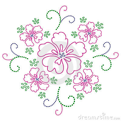 Flower design. Vector.