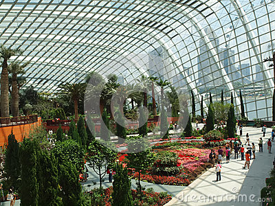 Flower Dome Editorial Photography