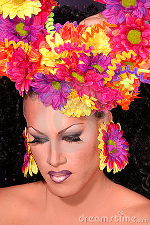 Flower Drag queen.