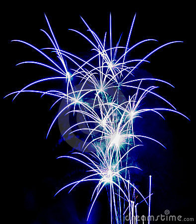 Free Flower Fireworks Royalty Free Stock Image - 4126886