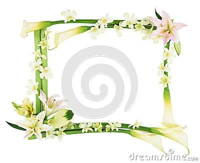 Flower Frame-3