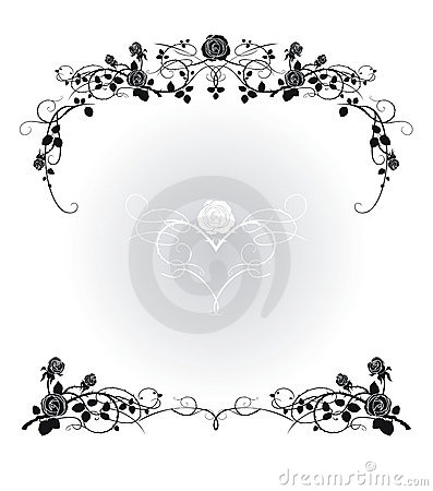 Free Flower Frame Stock Images - 3458464