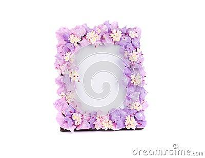 Flower frame for photo.