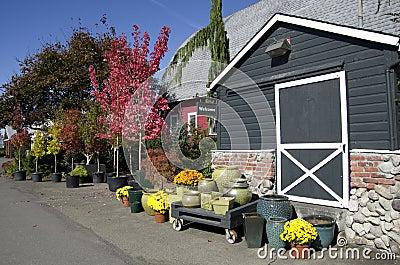 Flower garden shop