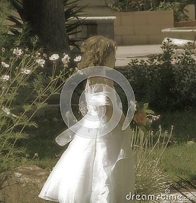 Free Flower Girl Stock Photography - 234362