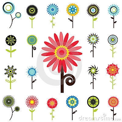 Free Flower Graphics Stock Image - 6542841