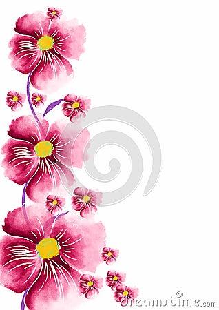 Flower greeting