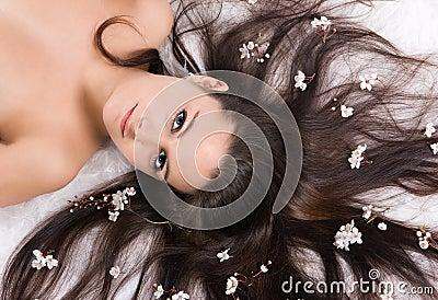 Flower hair