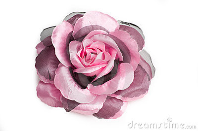A flower hair clip for women.