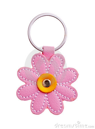Free Flower Keychain Stock Image - 18211131
