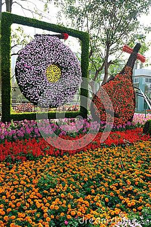 Flower musical instruments