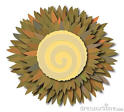 Flower note camaflage