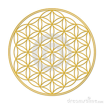 Free Flower Of Life Royalty Free Stock Images - 30101689