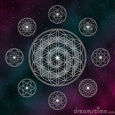 Free Flower Of Life Stock Photography - 75306072