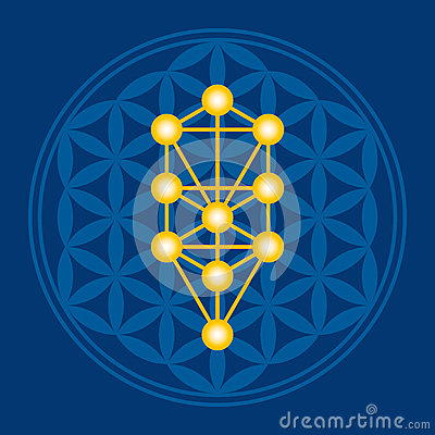 Free Flower Of Life In Tree Of Life Illustration Stock Photo - 88099680