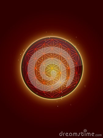 Free Flower Of Life Pendant Wallpaper Royalty Free Stock Images - 103092729
