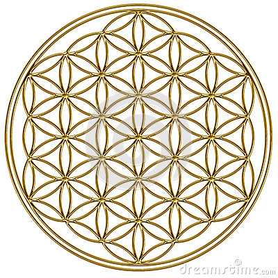 Free Flower Of Life - Sacred Geometry Royalty Free Stock Photography - 29724667