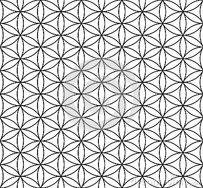 Free Flower Of Life Seamless Pattern Stock Photography - 80260752