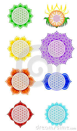 Free Flower Of Live Chakras Stock Image - 32369041