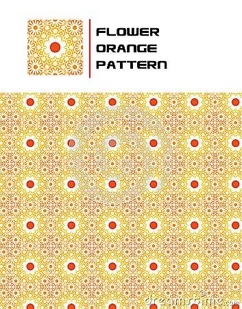 Free Flower Orange Pattern Stock Photos - 15756173