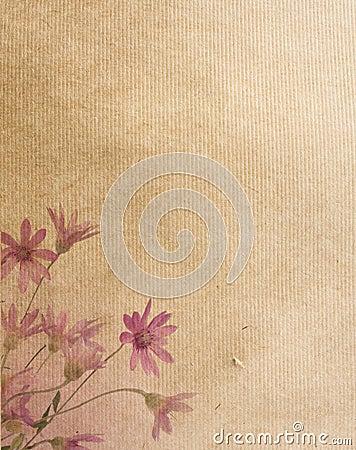 Flower paper textures.